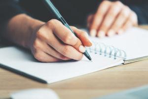 Writing dental claim notes